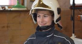 Kobieta w straży pożarnej - Iga Kordasiewicz