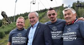 Adam Małysz wspiera odbudowę skoczni narciarskich w Harraachovie