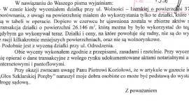 Interes gminy czy insynuacje radnego ? cz.II
