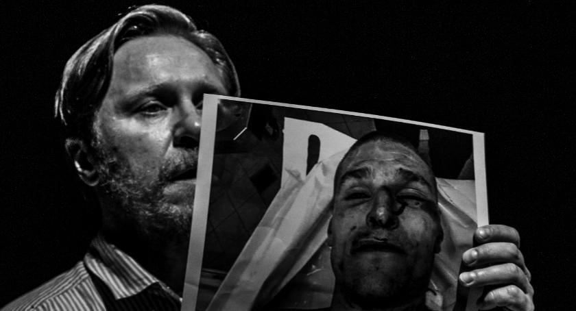 Teatr Modrzejewskiej, Dokumentalna śmierć komisariacie Scenie Gadzickiego - zdjęcie, fotografia