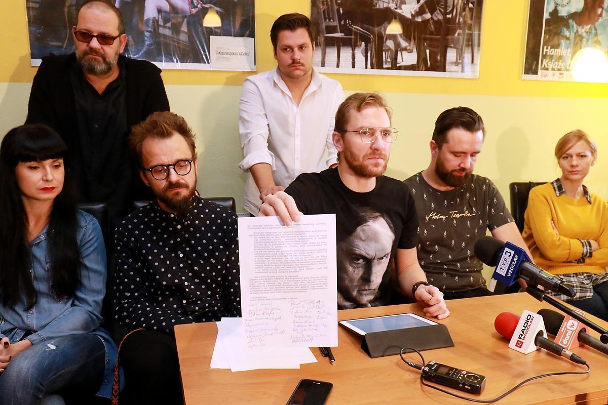 Wydarzenia, Aktorzy napisali kandydatów prezydenta - zdjęcie, fotografia