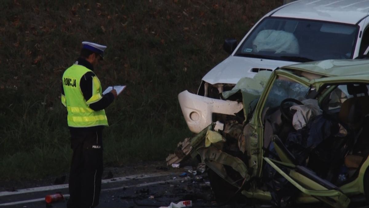 Wydarzenia, osoby zginęły wypadku Prochowicach - zdjęcie, fotografia