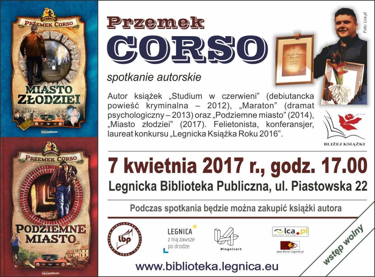 Książki i publikacje, Spotkanie Przemkiem Corso - zdjęcie, fotografia