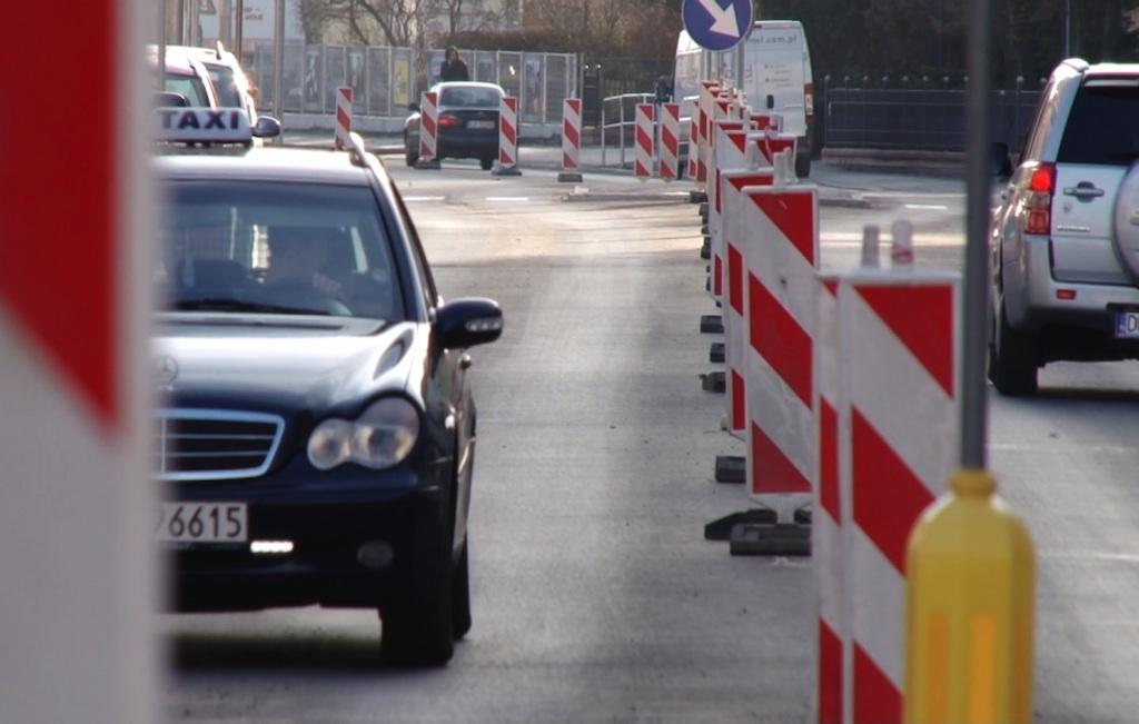 Komunikaty Policji, Pomiar prędkości Złotoryjskiej - zdjęcie, fotografia