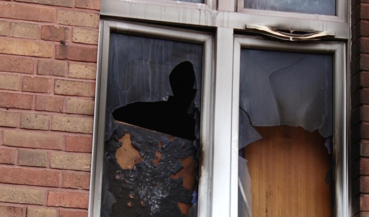 Interwencje straży i pożary, Śmierć płomieniach Tarnopolskiej - zdjęcie, fotografia