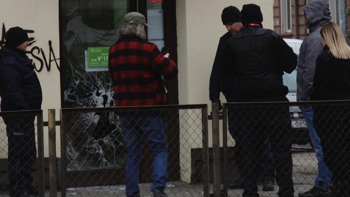 Sprawy kryminalne, ulicy Piastowskiej - zdjęcie, fotografia