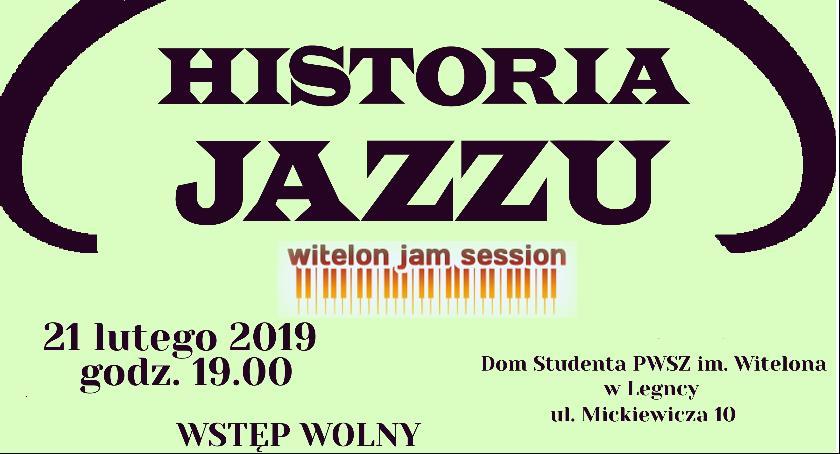 Muzyka Koncerty, Poznaj historie jazzu koncercie Witelon Session - zdjęcie, fotografia