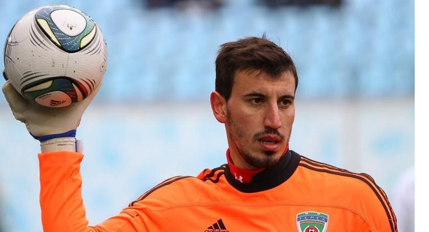 Piłka nożna, Miedź znalazła bramkarza Rosji kłopoty Sosłan Dżanajew - zdjęcie, fotografia
