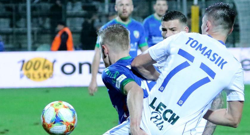 Piłka nożna, piątek Miedź zagra sparingowy Lechem Poznań - zdjęcie, fotografia