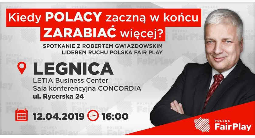 Wydarzenia, Robert Gwiazdowski Legnicy Otwarte spotkanie Letii - zdjęcie, fotografia