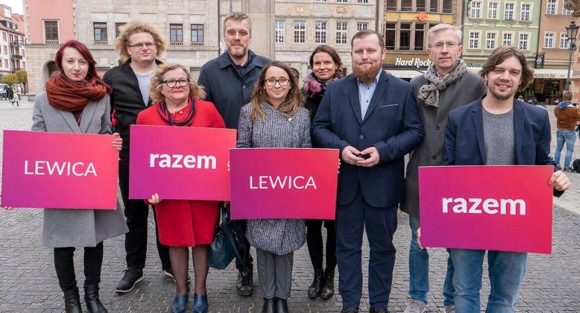Wydarzenia, Burakowska legnicki akcent wyborczej liście Lewicy Razem - zdjęcie, fotografia