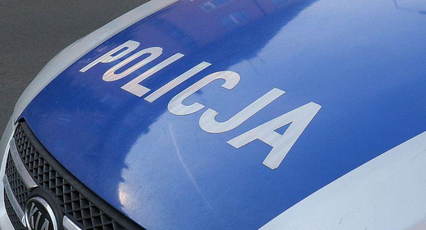 Komunikaty Policji, Policyjny pościg latkiem zakończył podwórku Gołaczowie - zdjęcie, fotografia