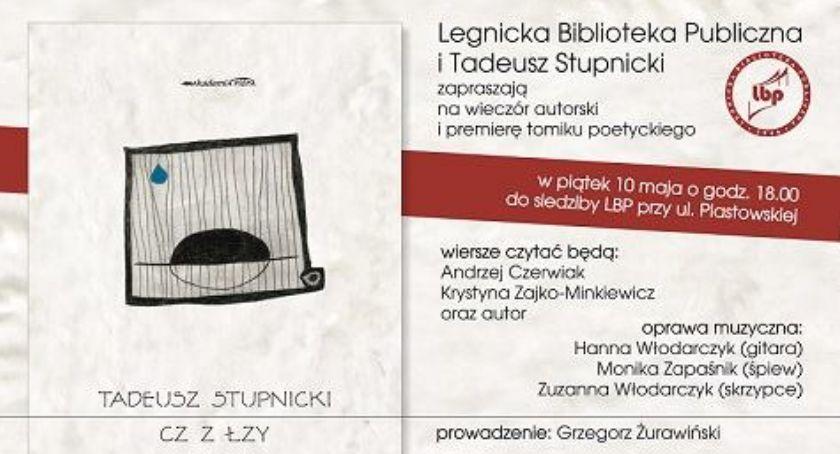 Książki i publikacje, Poetycko muzycznie wieczór autorski Stupnickiego - zdjęcie, fotografia