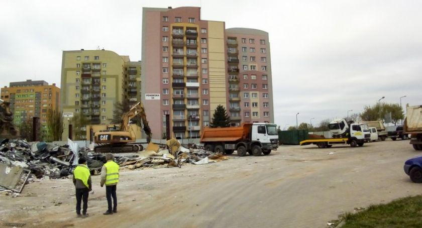 Gospodarka, rozstrzygnął przetarg przebudowę ulicy nowym Lidlu - zdjęcie, fotografia