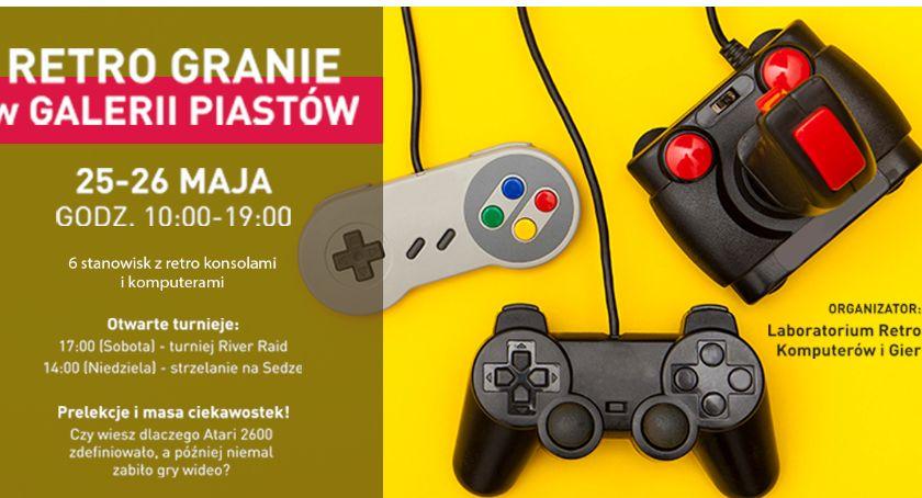 Galeria Piastów, weekend Retro Granie Galerii Piastów Zapraszamy! - zdjęcie, fotografia