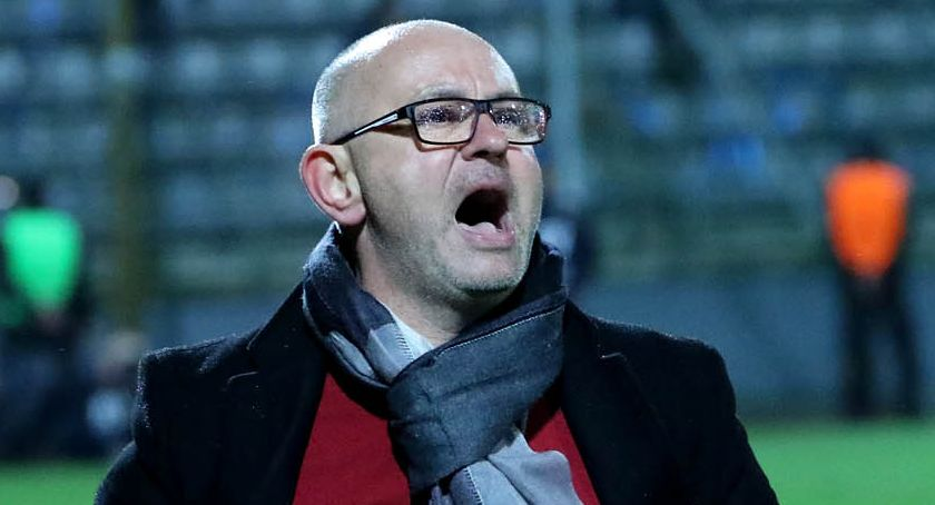 Piłka nożna, OFICJALNIE Dominik Nowak poprowadzi Miedź Legnica lidze - zdjęcie, fotografia