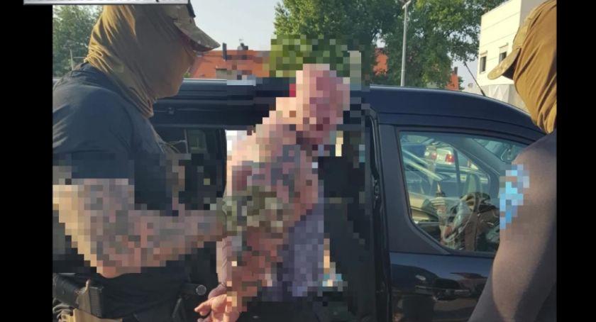 """Wydarzenia, """"Łowcy głów"""" zatrzymali Legnicy groźnego przestępcę - zdjęcie, fotografia"""