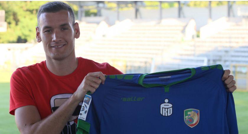 Piłka nożna, Miedź pozyskała reprezentanta Czarnogóry Nemanja Mijusković - zdjęcie, fotografia