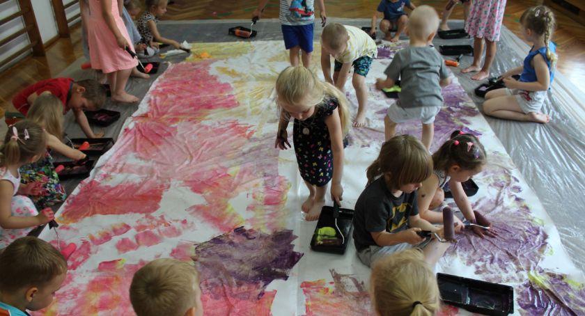 Po godzinach, Kreatywne sensoplastyczne warsztaty dzieci dotacji inicjatywy społeczne - zdjęcie, fotografia