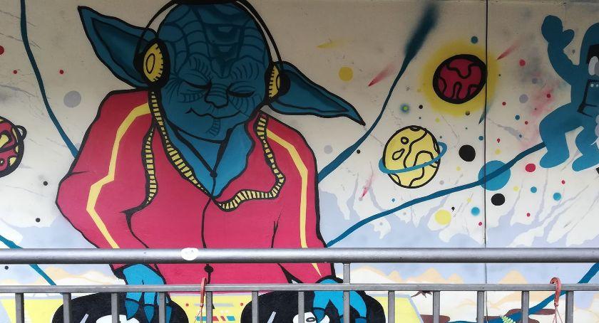 Wydarzenia, mural Legnicy Wiecie gdzie znajduje - zdjęcie, fotografia