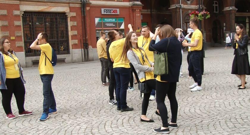 Wydarzenia, studentów kraju obozie Legnicy - zdjęcie, fotografia