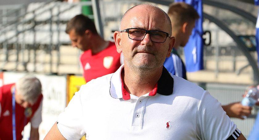 Piłka nożna, trener Miedzi Dominik Nowak skomentował porażkę Mielcu - zdjęcie, fotografia
