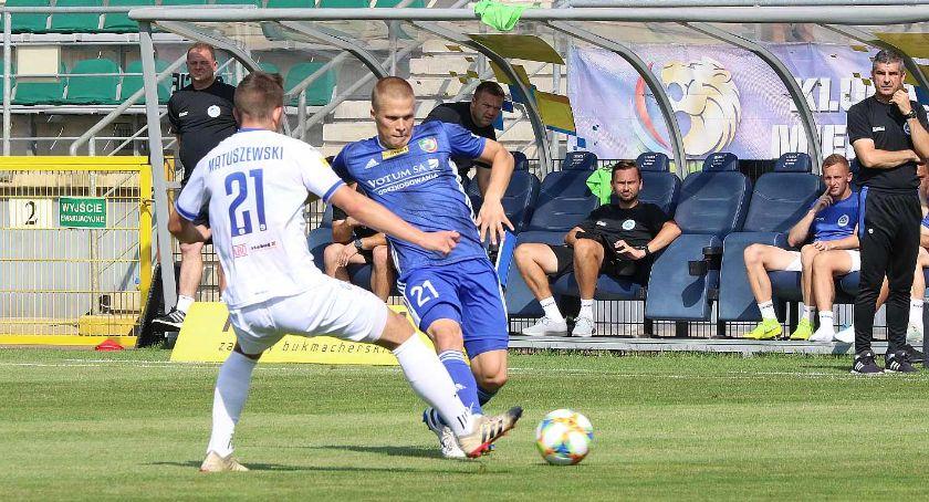 Piłka nożna, Zobaczcie meczu Miedź Legnica Wigry Suwałki [POLSAT SPORT] - zdjęcie, fotografia