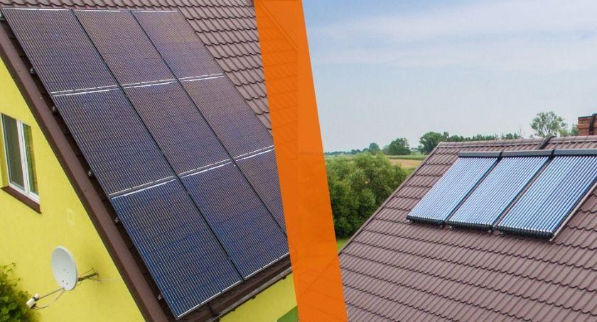 Po godzinach, Panele słoneczne kolektory słoneczne wybrać - zdjęcie, fotografia