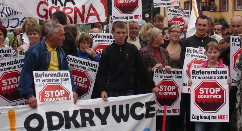Wydarzenia, dziesięć referendum sprawie kopalni odkrywkowej [ZDJĘCIA] - zdjęcie, fotografia