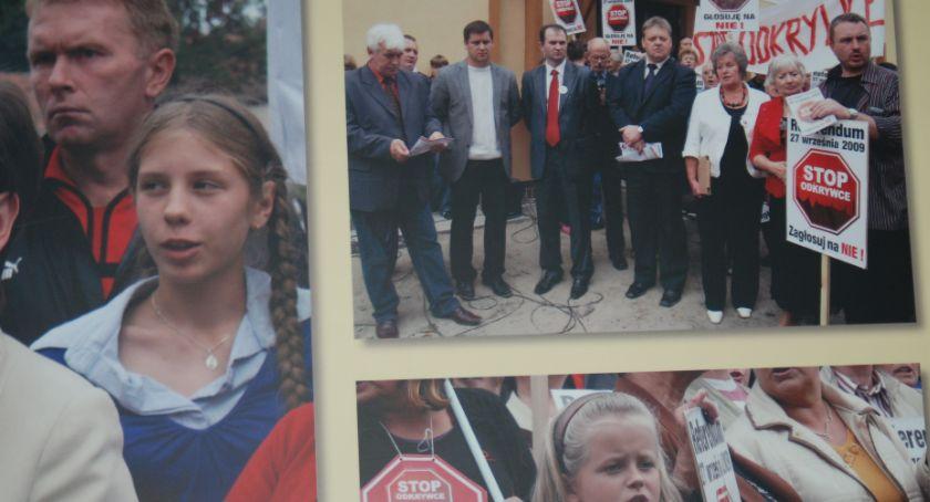 Wydarzenia, latach wspominają referendum sprawie odkrywki [ZDJĘCIA] - zdjęcie, fotografia