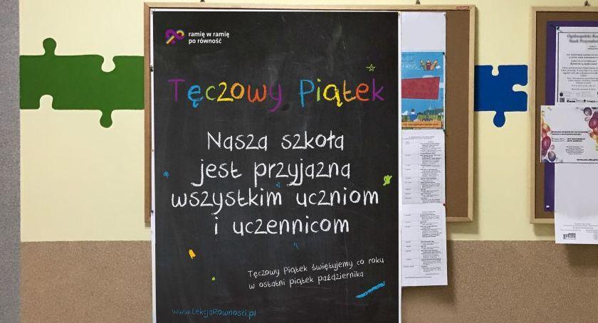 """Wydarzenia, legnickie szkoły odważą zorganizować """"Tęczowy Piątek"""" - zdjęcie, fotografia"""