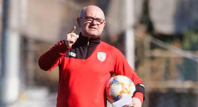 Piłka nożna, powiedzieli trenerzy meczu Miedź Nowak Szanujemy punkt - zdjęcie, fotografia