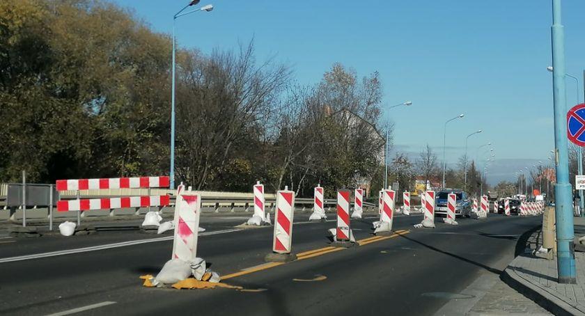 Wydarzenia, Remont Leszczyńskiej półmetku styczniu rozbiórka mostu - zdjęcie, fotografia