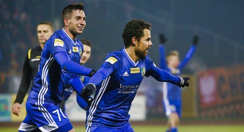 Piłka nożna, Fortuna Chrobry Głogów Miedź Legnica [SKRÓT MECZU] - zdjęcie, fotografia