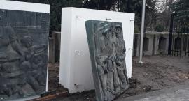 Lapidarium jeszcze niegotowe, a już zostało zdewastowane!