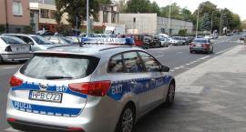 Patrole na L4. Protest policjantów dotarł do Legnicy