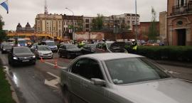 Wypadek na Pocztowej spowodował olbrzymie utrudnienia w ruchu