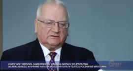 Tadeusz Samborski oburzony zachowaniem wrocławskich aktorów!