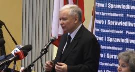 Kaczyński mobilizuje elektorat w Legnicy