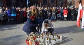 Legniczanie tłumnie pożegnali prezydenta Pawła Adamowicza