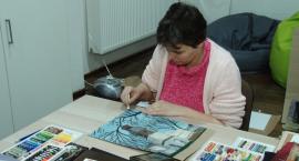 Wernisaż prac plastycznych niepełnosprawnej artystki