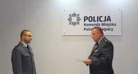 Komendant legnickiej policji od środy ma nowego zastępcę