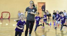 Gwiazdy handballa na zajęciach z maluchami w legnickiej akademii Sport Future