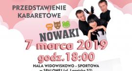 Kabaret Nowaki w przeddzień Dnia Kobiet w Kunicach