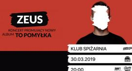 #KonkursyTuLegnica - rozdajemy bilety na koncert Zeusa