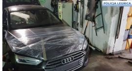 Złodziejska dziupla samochodowa w Legnicy - zlikwidowana