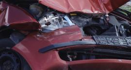 Wypadek na drodze S3. Zderzyły się dwa samochody osobowe
