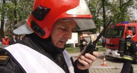 Wielkie manewry straży pożarnej na terenie bazy paliw w Kawicach