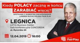 Prof. Robert Gwiazdowski w Legnicy. Otwarte spotkanie w Letii