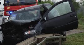 Wypadek na ul. Wrocławskiej. Trzy osoby w szpitalu [FILM]